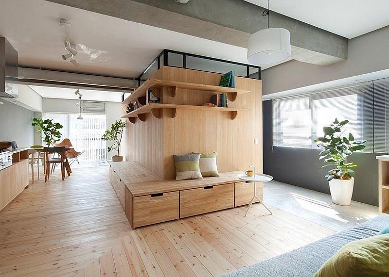 ΣΤΡΑΤΗ-ξύλινα πατώματα κατάλληλα για το ιαπωνικό living style